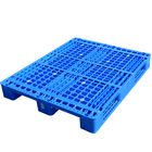 Accept custom heavy duty large stackable plastic pallet, new single faced returns pallet, 1200*1000 cheap plastic euro pallet