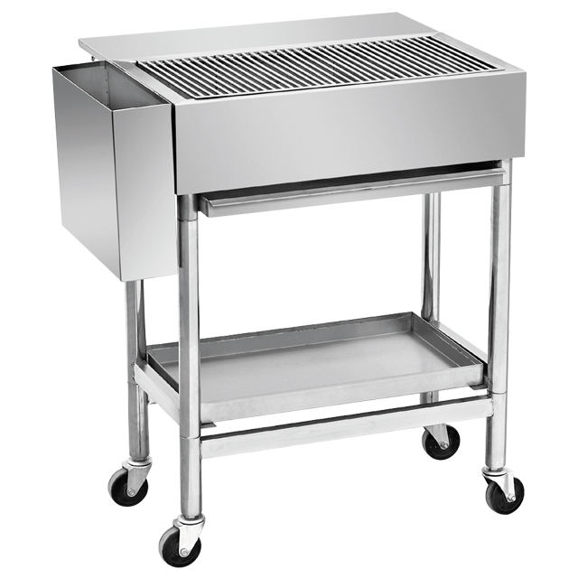 Edelstahl Holzkohle Grill Grill/Zypern BBQ Grill EB-W27