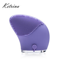 Amazon bestseller 2018 Chinese Supplier electric silicone facial sonic cleansing brush