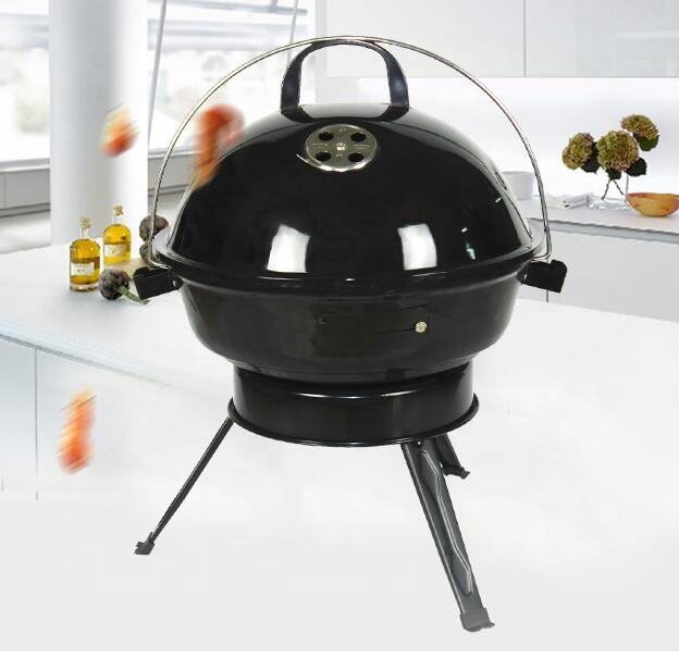 14'' Portable bbq Grill Charcoal Kettle BBQ with BSCI