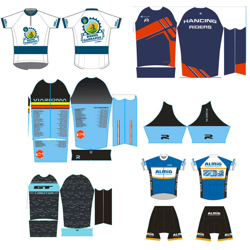 Customized Cycling Jersey Breathable Quick Dry Short Sleeve Custom Bike Jersey Top Quality Team cycling jersey Factory OEM&ODM