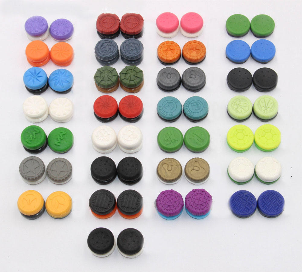 Thumbstick Cover Cap Grip for PS4 Slim Pro Gaming Controller Thumbsticks Grips