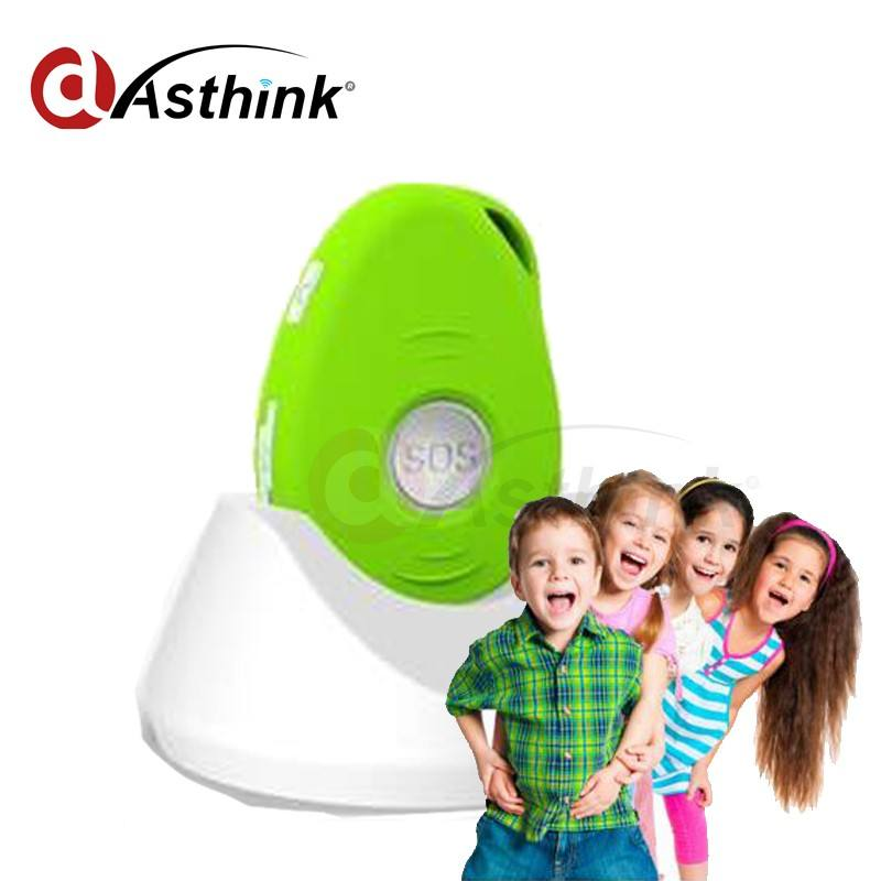 Draagbare Kids GPS Tracker met Fall Down Alert Via 3D G-sensor/GPS Tracker Mini