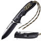 Best Outdoor Camping Hunting Bushcraft EDC Folding Pocket Knife Tactical Paracord Survival Military Foldable Knife