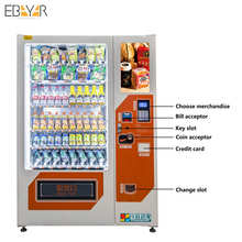 Customized Vending Machines Coin Operated Drink Beverage Combo Soda Vending Machine