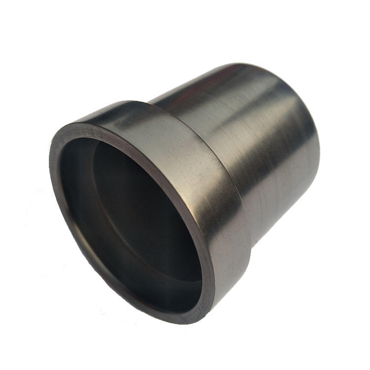 High quality carbon graphite crucible for melting steel