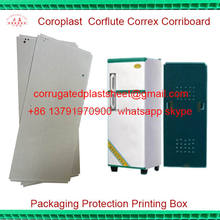 flame retardant pp back panel for refrigerator