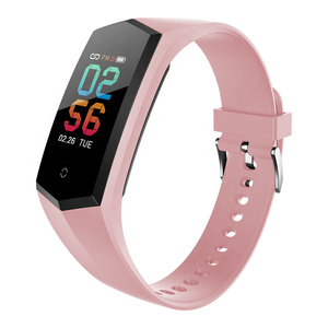 FITUP V17 color touch screen heart rate smart bracelet Fitness tracker with female period reminder