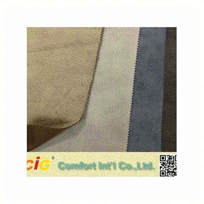 100% soft sueded cotton fabric embossed suede fabric suede bonded faux fur fabrics