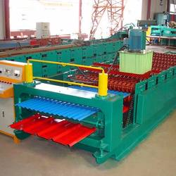 High Speed Double Layer sheet Roll Forming Machine for corrugated IBR profile