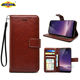 Premium PU Leather Case Cover For VIVO Y71,Leather Mobile Phone Case,Hot Flip Leather Wallet Card Pockets Case Cover