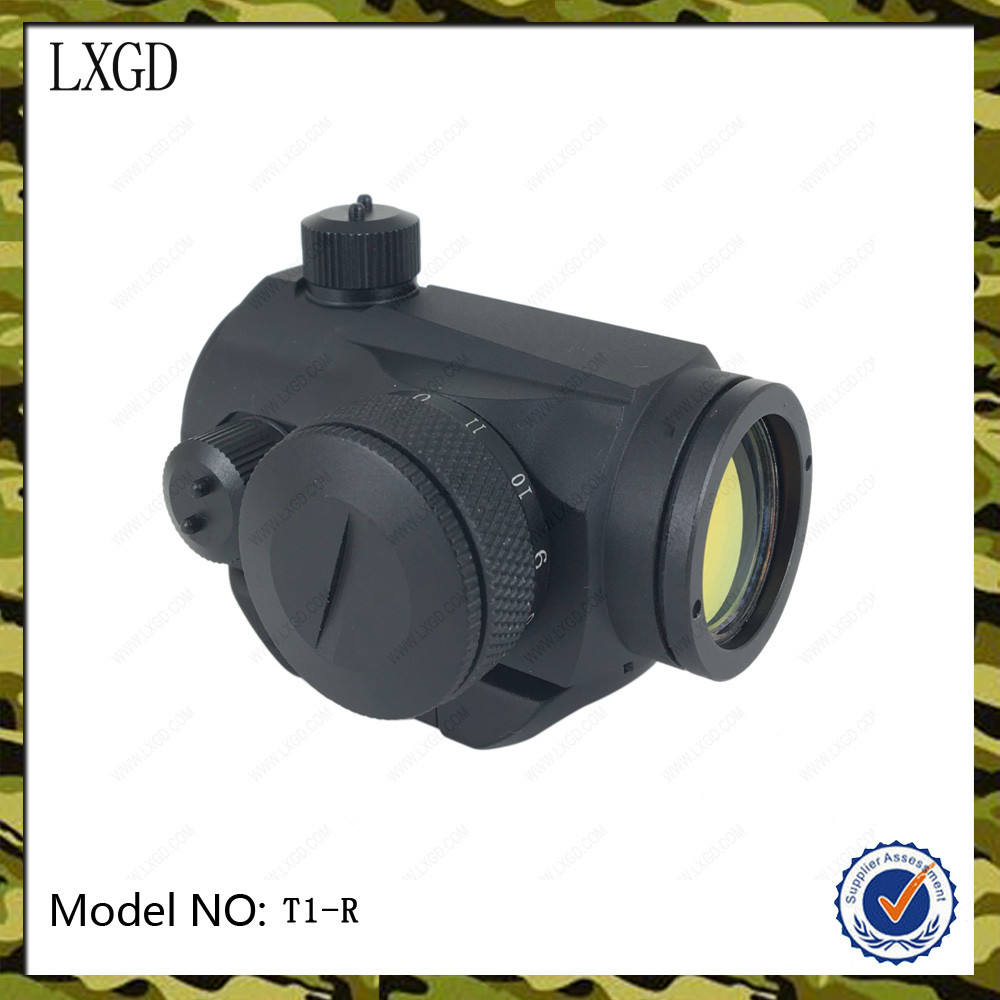 HD-5-R táctico compacto punto rojo picatiny 20mm visores de punto rojo vista arma térmica