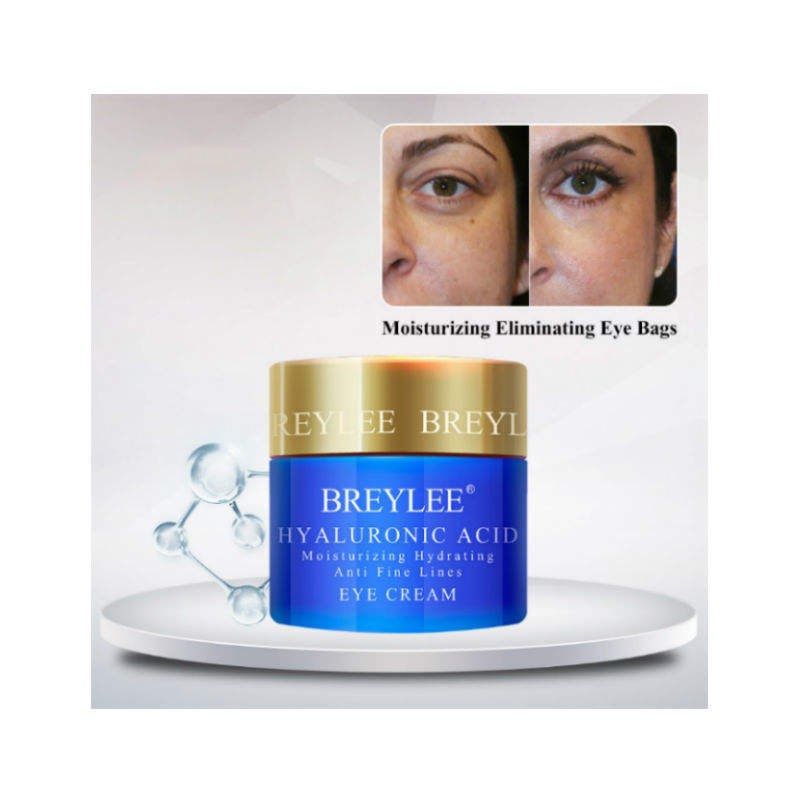 BREYLEE hyaluronic acid eye bag removal cream for anti puffiness free shipping