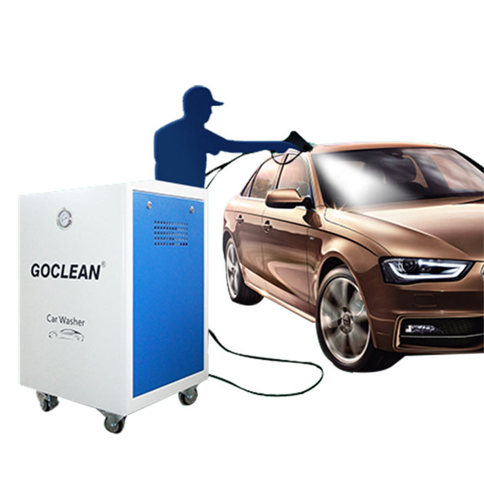 car detailing dry and wet steam hand car washing machine
