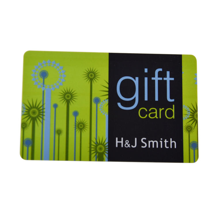 printing plastic business and gift card for company and shop
