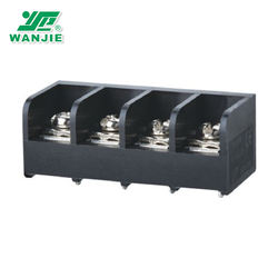 WANJIE panel mounted electronic components pitch11.1mm  WJ66 WJ66A barrier terminal block