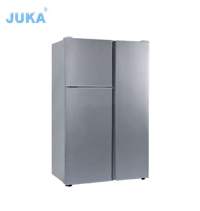 Nuovo Design Per La Casa Appliance 125 Litro Triple Porte DC 12 v 24 v/Solar Powered Frigorifero Fridge