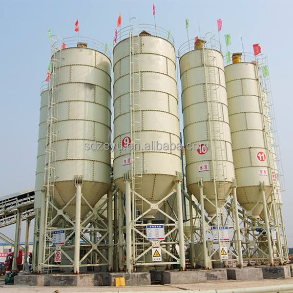 Daswell machinery 50 ton cement storage silo price