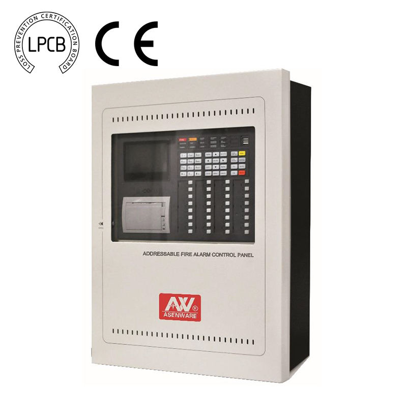 LPCB Genehmigt Address 8 zone feuer alarm panel control system