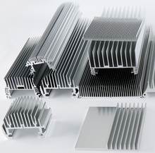 custom CNC machined aluminum radiator manufacturer Guangzhou