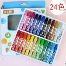 24 colors crayon set