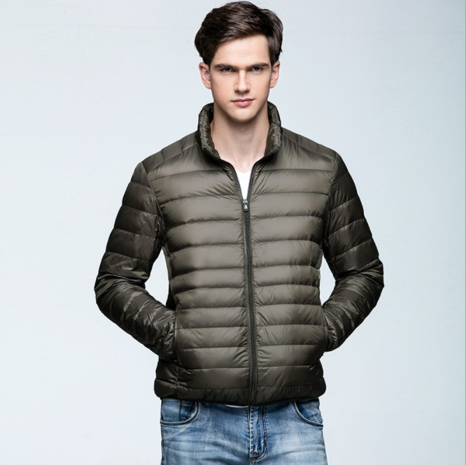 2017 high quality brand New Winter Duck Down Jacket Men Fashion Design Jackets and Coats For Men Casual Winter