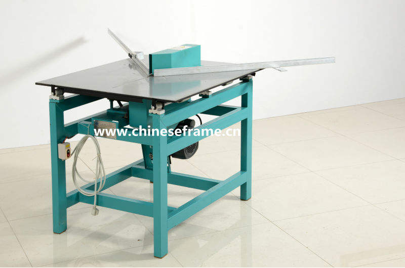 tsj02 203C Picture frames cutting machine Electricity Operated Guillotine Frame Corner cutter