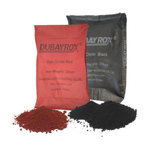 Iron Oxide Price Synthetic Iron Oxide Red/Yellow/Black Pigment Powder for Concrete Paving