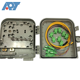 High quality ip65 PVC material pole wall mounting plc splitter joint box outdoor FTTH fiber optic termination box