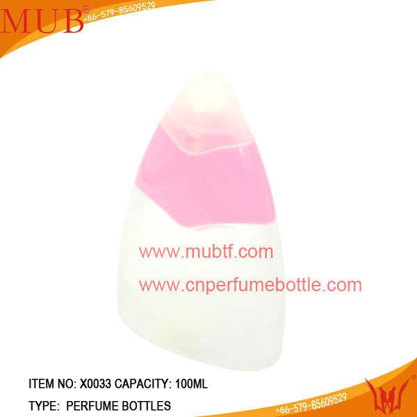 100 мл матовые розовый стеклянные бутылки