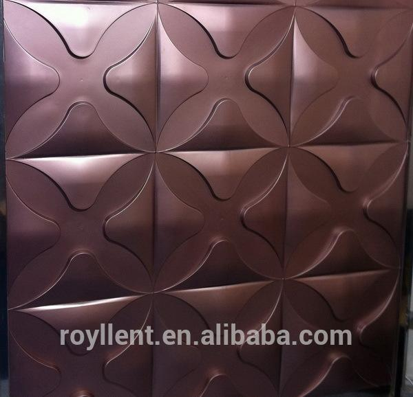 China supplier 3d led panel with CE certificate decorative 3d wall panel moulding