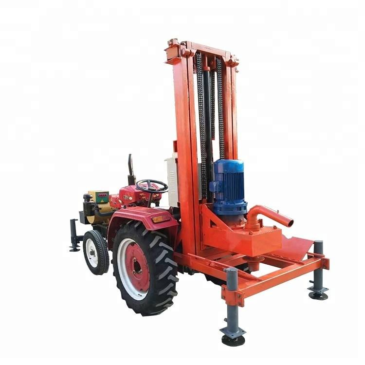 OC-500T Easy Operation Vehicle Mounted Small Cheap Portable Shallow Water Well Drilling Rigs for Sale