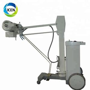 IN-D100BY medical hospital high frequency x ray equipment 50 100 200 300mA portable mobile x-ray machine price