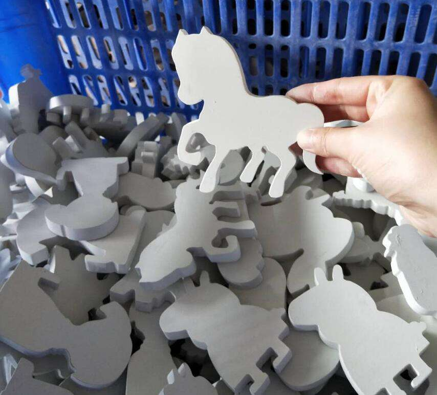 Customize wood Farm Animals Toy Figure/Wooden Puzzle/Natural Unpainted Wood Cutouts Animals