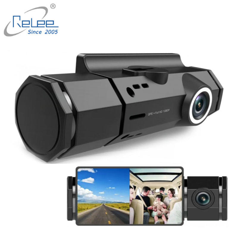 Top sale Dash Camera 2MP front+ back full HD 1080p dvr dashcam 2.7inch LCD Car DVR Recorder with GPS video camera