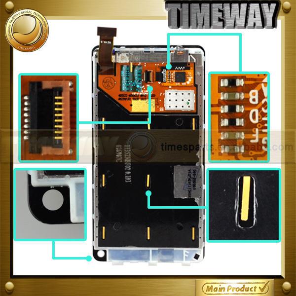 الساخنة الجملة timeway lcd الأصل التحويل الرقمي لمسة لنوكيا n9