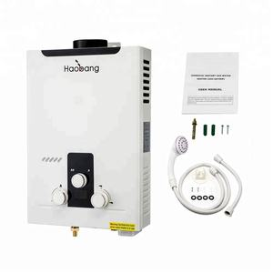 resale newest domestic 6L lpg water heater JSD12-HB02