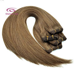 High Quality Double Drawn Remy Human Hair weft