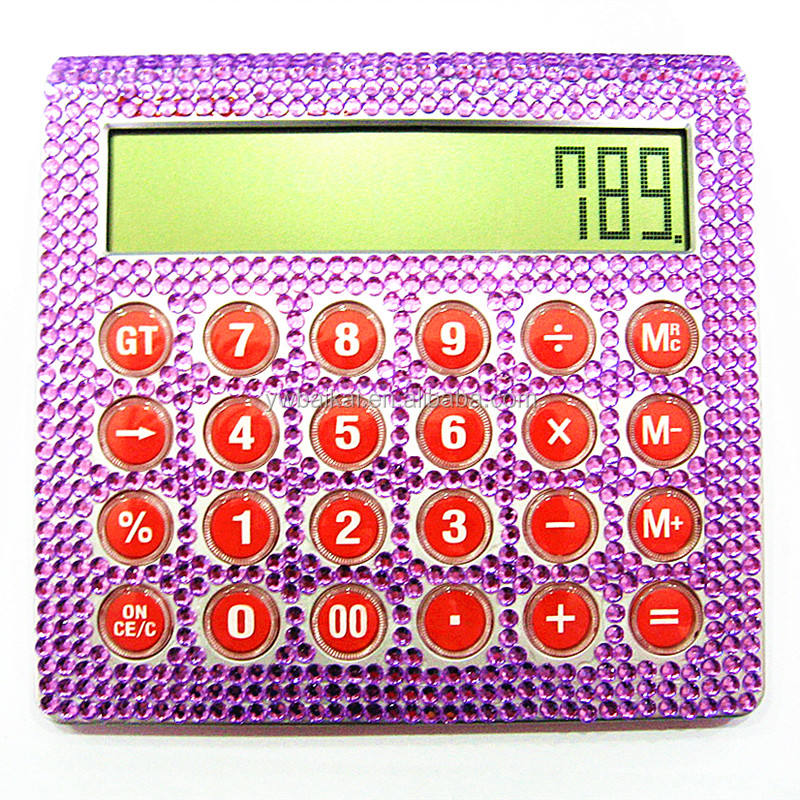 Bling bling strass 12 chiffres <span class=keywords><strong>calculatrice</strong></span> scientifique
