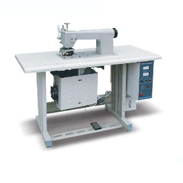 ULTRASONIC SEWING MACHINE FOR NON WOVEN FABRIC BAG MAKING