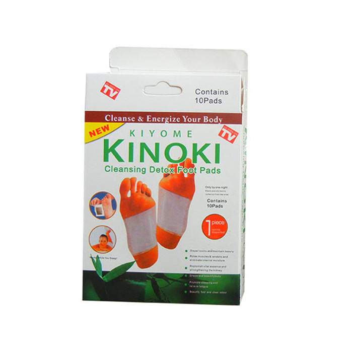 kinoki foot pads wholesale health product Chinese herbal natual detox foot patch for promoting sleeping