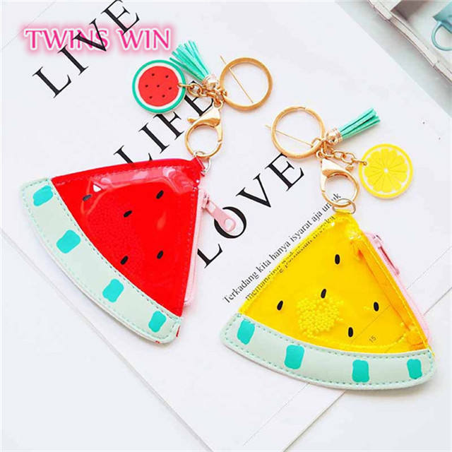 2018 cute 박, 키 chain triangle coin purse 529
