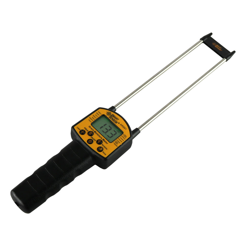 Grain Moisture Meter Digital Moisture Meter Smart Sensor AR991 Use For Corn,Wheat,Rice,Bean,Wheat Flour fodder rapeseed seed