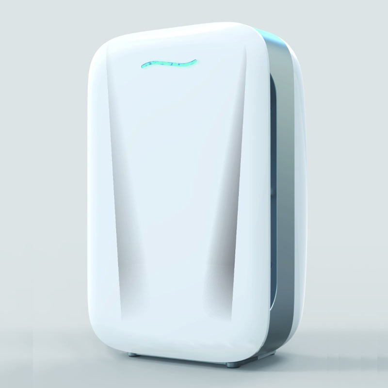 Low Noise portable Sensor Use HEPA fan Air Purifier used for home