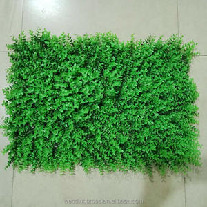 PVC Artificial hierba verde de la pared para Decoración
