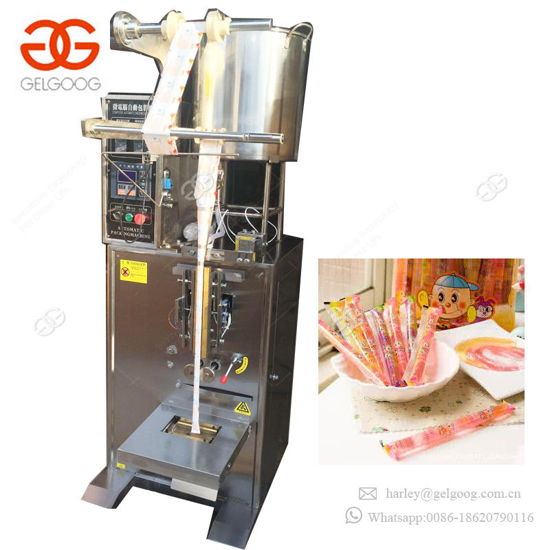 Widely Use Vertical Liquid Filling Packaging Machinery Shampoo Jelly Sachet Filling Packing Machine