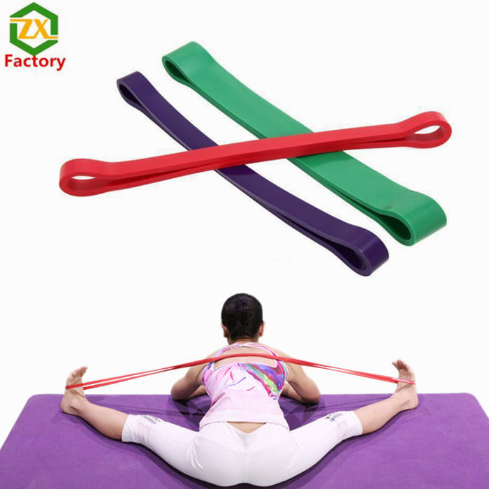 Fitness training accessories cheap rubber custom printed elastic bands