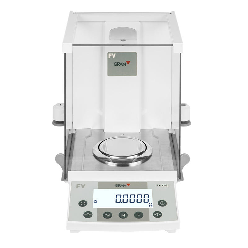 GRAM 0.1mg 120g 220g Laboratory Analytical Balance With Automatic Internal Calibration