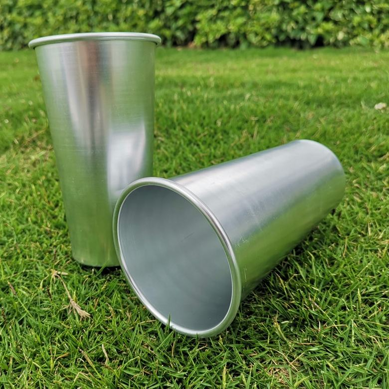 2019 480ml/16oz rolled edge multi-colored beer mug metal foil tumbler shot cold drink cup drinking cup anodized aluminum tumbler