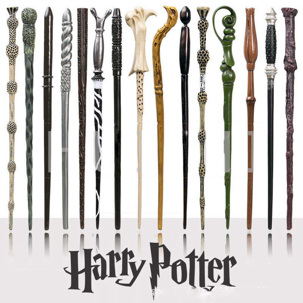 New Arrival 14.5'' Magic Wand Harry Potter For Cosplay Halloween Wand Gift In Box